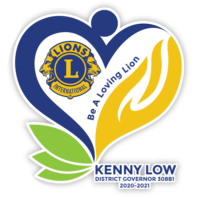 Lions Clubs Logo - Kenny Low
