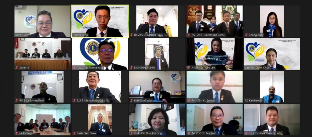 Virtual District Governor meets Club Presidents