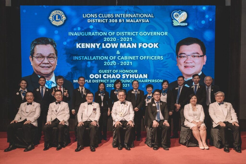 District Governor Kenny Low Inauguration