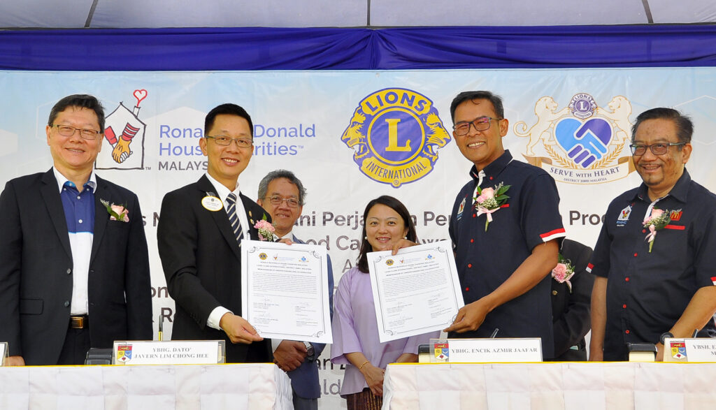 RMHC Malaysia and Lions Clubs International forges strategic partnership for Childhood Cancer Awareness