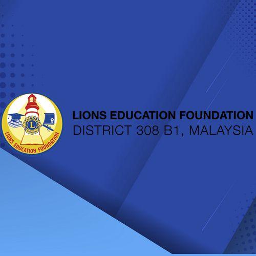District 308 B1 Lions Education Foundation