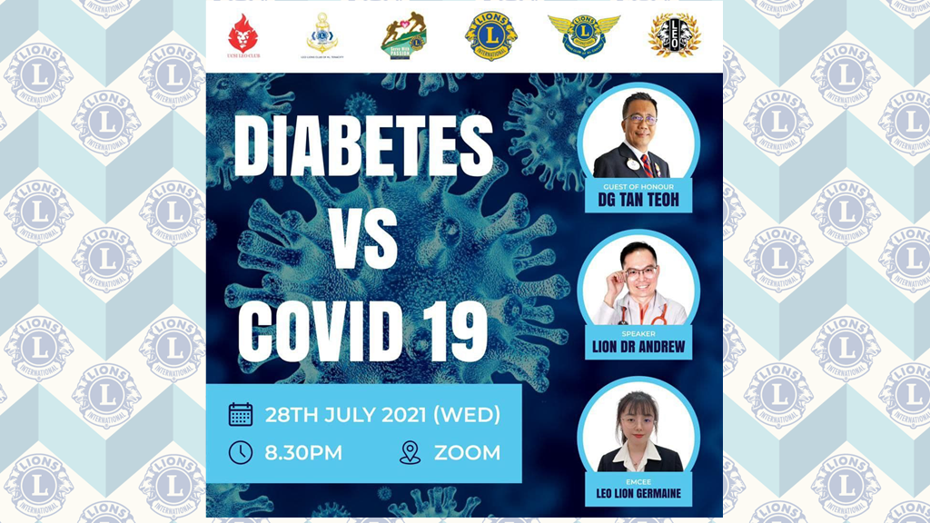Diabetes 🍬 VS COVID-19 😷
